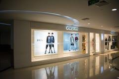 Asian Chinese, Beijing, Joy City Shopping Plaza,Interior, the shop layout, Stock Photos
