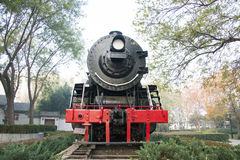 Asian Chinese, Beijing, Linglong Park, locomotive, landscape Royalty Free Stock Photography