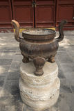 Asian Chinese, Beijing Park, Fahai Temple, incense Stock Images