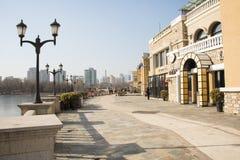 Asian Chinese, Beijing, Solana, European architecture Stock Photo