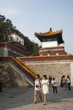 Asian Chinese, Beijing, the Summer Palace, the four major department of continent Stock Image