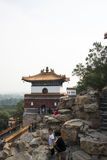 Asian Chinese, Beijing, the Summer Palace, the four major department of continent Royalty Free Stock Photos