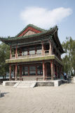 Asian Chinese, Beijing, the Summer Palace,JING  Ming building Royalty Free Stock Photos
