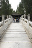 Asian Chinese, Beijing, the Summer Palace, qing hua Xuan Stock Image