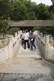Asian Chinese, Beijing, the Summer Palace, qing hua Xuan Royalty Free Stock Photos