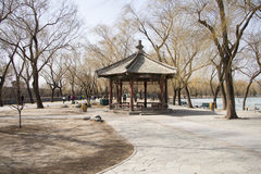Asian Chinese, Beijing, the Summer Palace, the Royal Garden, landscape Stock Image