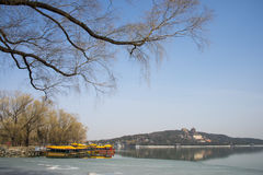 Asian Chinese, Beijing, the Summer Palace, the Royal Garden, landscape Stock Images
