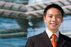 Asian chinese business man Royalty Free Stock Photos