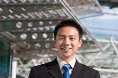Asian chinese business man Royalty Free Stock Photography
