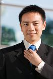 Asian chinese business man Stock Photo