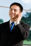 Asian chinese business man Stock Image