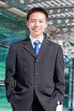 Asian chinese business man Royalty Free Stock Photo