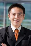 Asian chinese business man Stock Photography