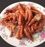Asian Chinese Cantonese food chicken feet Royalty Free Stock Photo