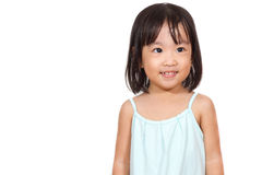 Asian Chinese children Smiling Royalty Free Stock Photography