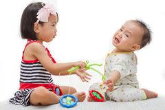 Asian Chinese Childrens Playing Royalty Free Stock Photography