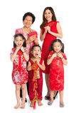 Asian Chinese family celebrate Chinese New Year Royalty Free Stock Image
