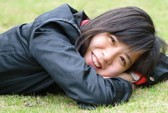 Asian chinese girl Royalty Free Stock Images
