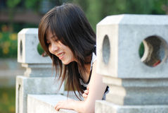Asian chinese girl portrait Stock Images
