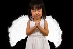 Asian Chinese Little Angel Royalty Free Stock Image
