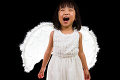 Asian Chinese Little Angel Stock Photography
