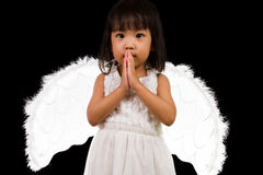 Asian Chinese Little Angel Royalty Free Stock Photos