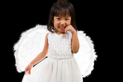 Asian Chinese Little Angel Stock Image