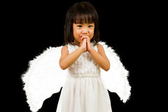 Asian Chinese Little Angel Royalty Free Stock Images