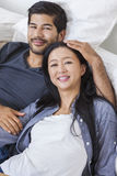 Asian Chinese Man Woman Couple Royalty Free Stock Photo