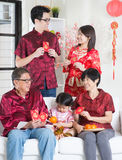 Asian Chinese New Year greeting Royalty Free Stock Photo