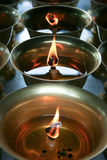 Asian Chinese Oil Burners Royalty Free Stock Photography