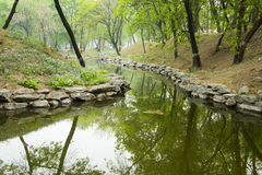 Asian Chinese Old Summer Palace natural scenery Stock Images