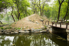 Asian Chinese Old Summer Palace natural scenery Royalty Free Stock Images