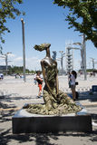 Asian Chinese, Olympic Park, sculpture, the sea breeze Royalty Free Stock Photography
