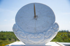 Asian Chinese, Tianjin Wuqing, Green Expo, Sundial Royalty Free Stock Photo