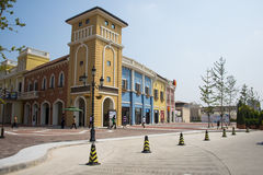 Asian Chinese, Tianjin, Wuqing, Venice are Italian style shopping paradise Royalty Free Stock Image
