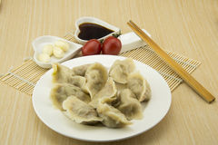 Asian Chinese traditional pasta Boiled dumplings Stock Photography