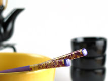 Asian chopsticks Stock Photography