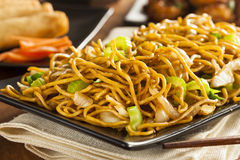 Asian Chow Mein Noodles Stock Images