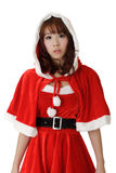 Asian Christmas girl Stock Image