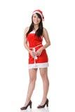Asian Christmas girl Stock Photography