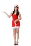 Asian Christmas girl Royalty Free Stock Photos