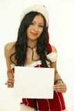Asian christmas woman royalty free stock images