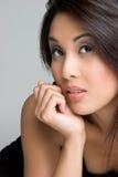Asian Closeup Stock Photo
