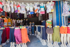 Clothing Mannaequins Trading Stores Royalty Free Stock Photos