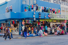 Clothing Street Trading Store Stock Images