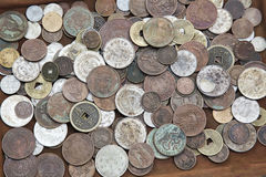Asian coins Stock Photo