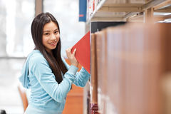 Asian college student Royalty Free Stock Images