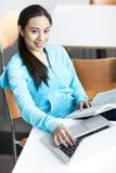 Asian college student Stock Photos