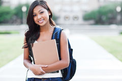 Asian college student stock photography